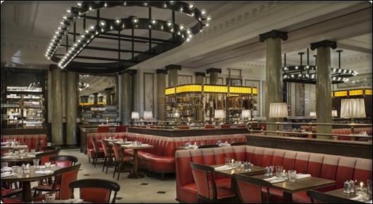 مطعم فندق تشانسيري كورت لندن