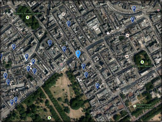 ذا ريتز لندن فندق خمس نجوم