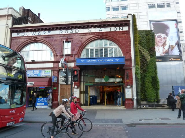 شارع العرب (( الأجور رود )) Edgware Road